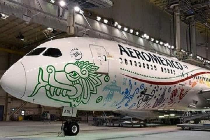 Quetzálcoatl de Aeroméxico – Foto Bolsamaniajpeg
