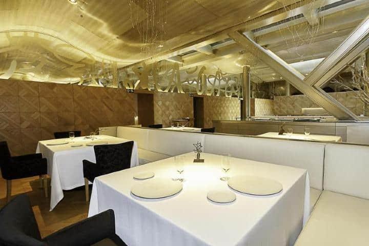 El Restaurant Lasarte por dentro. Foto: RL.