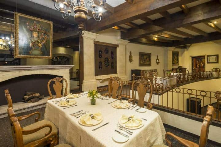 Restaurante del Hotel Quinta Real, Zacatecas. Foto: Booking
