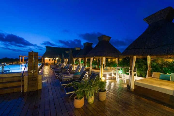 ¿Te imaginas pasar la noche en este lugar, un buen trago y sin preocupación alguna? Foto: Náay Tulum.