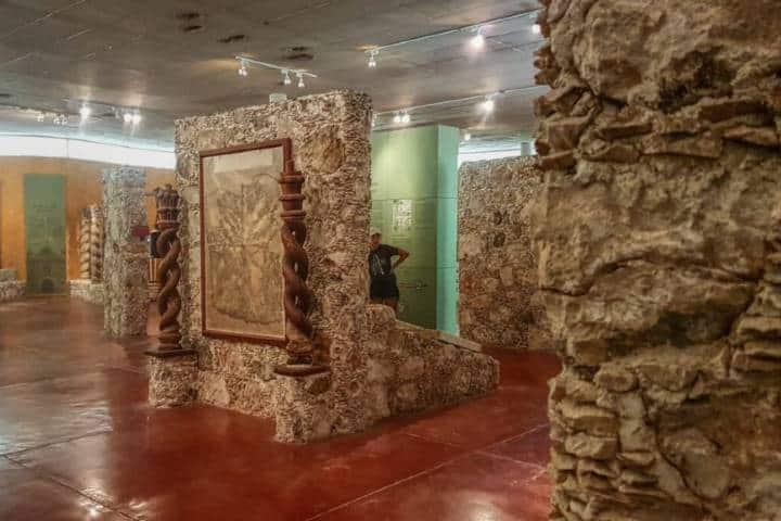 Sala de historia en el Museo de Dzibilchaltun. Foto: Mayan Península