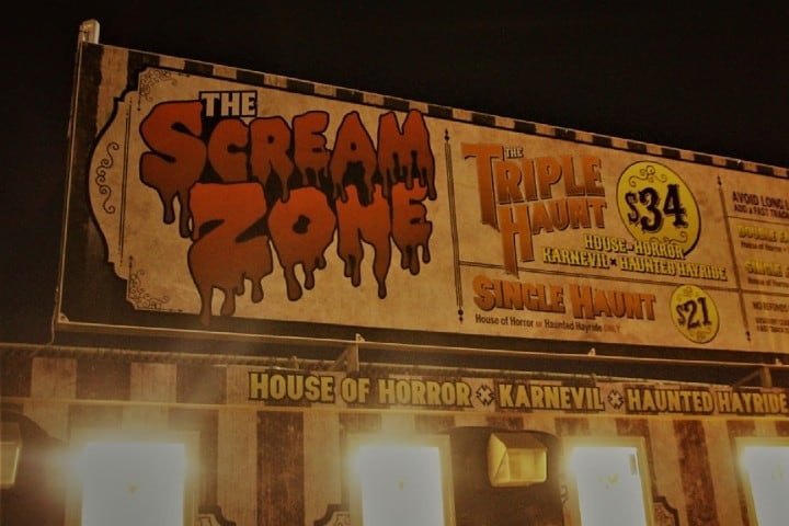 Scream Zone. Foto: HG