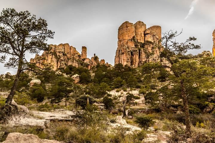Parque Nacional Sierra de Órganos, lugar de filmación de muchas películas. Foto: Flickr