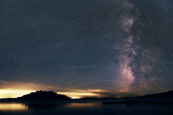 Dos países separados por el Lago Alqueva. Foto: Kees Scherer.