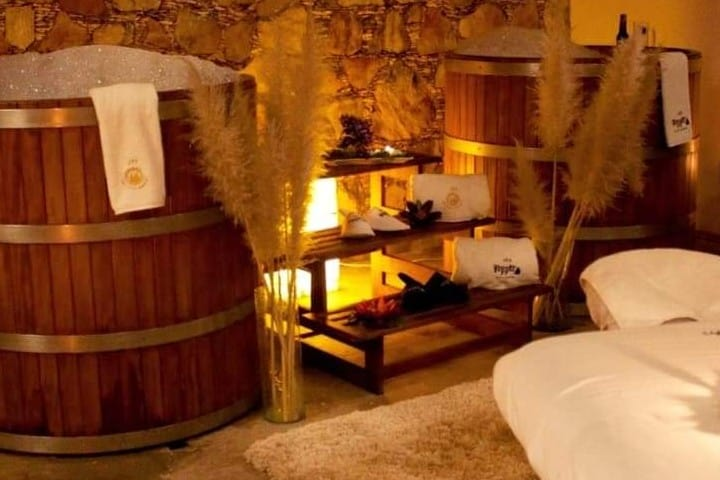 Spa de cerveza. Foto: Hotel Boutique Casa Diamante | Facebook