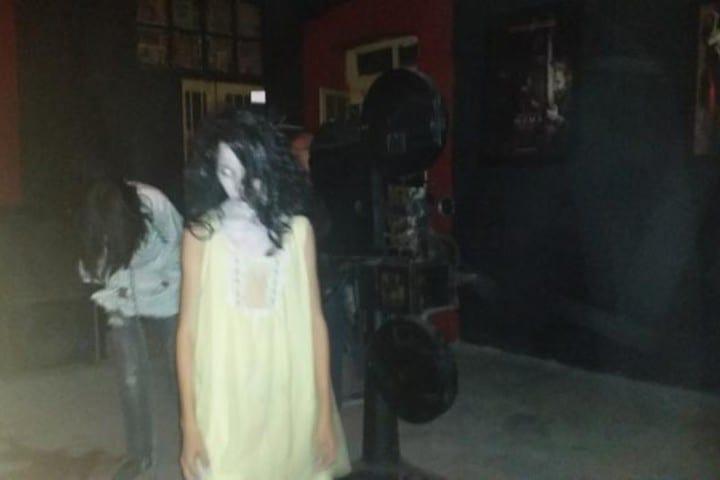 Transmisión del Museo del Horror de Saltillo. Foto: El Siglo de Coahuila