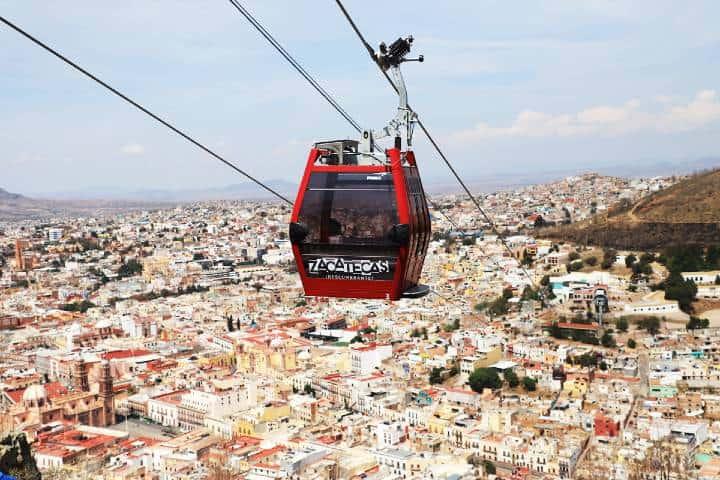 Teleférico en el cerro de la bufa. Foto: Líder Empresarial