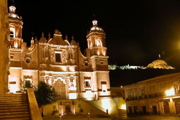 Templo de Santo Domingo, Zacatecas. Foto: Pinterest