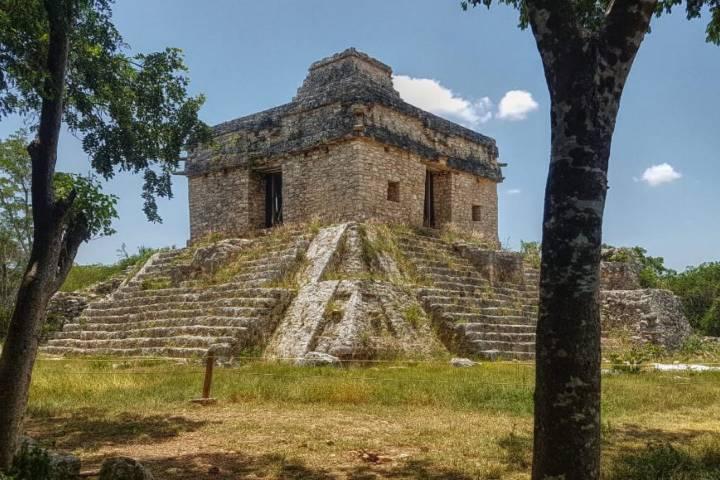 Templo de Dzibilchaltun. Foto: Guía Yucateca