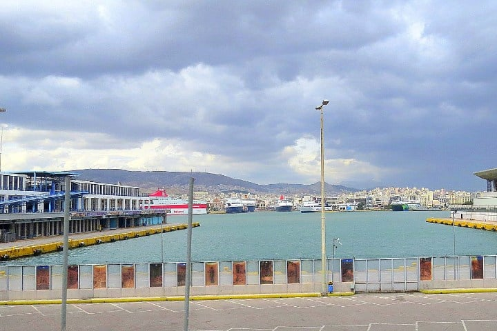 Terminal de Cruceros en Kantharos. Foto: Alejandro del Valle