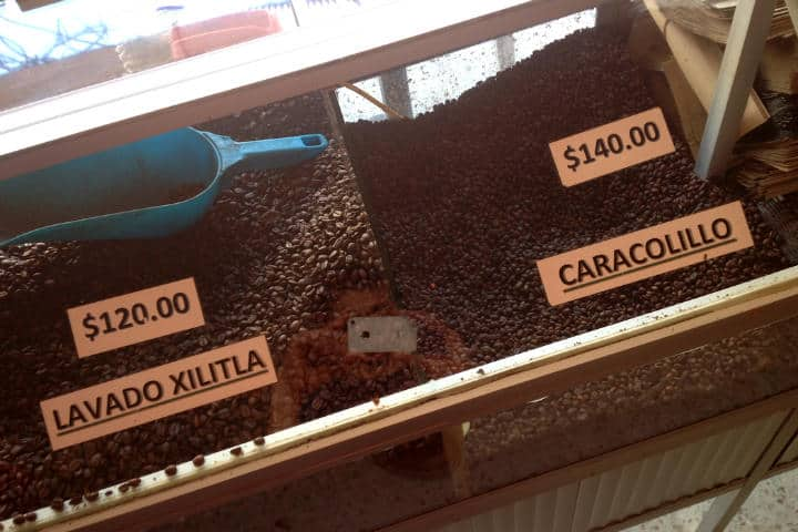 Tipos de café en Xilitla - Foto Luis Juárez J.