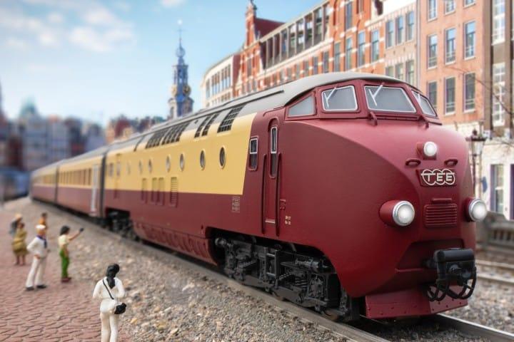 Trenes a escala. Foto: LCTM