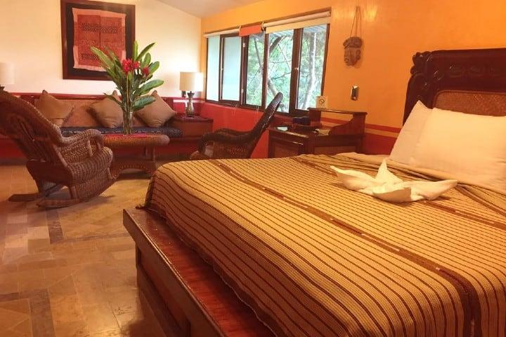 Una de las habitación de este hermoso hotel (Chananbal). Foto: Booking.