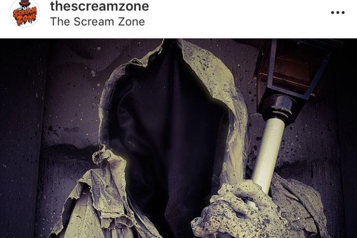 Victim or Survivor. Foto: Instagram The Scream Zone