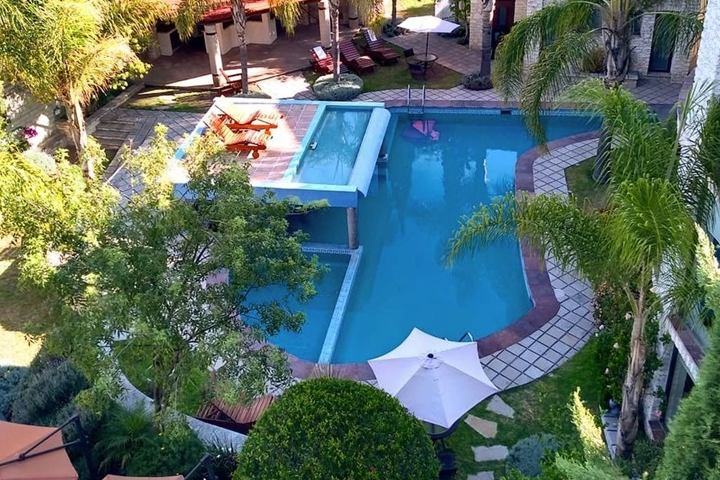 Vista de Alberca. Foto HBCD Fb.