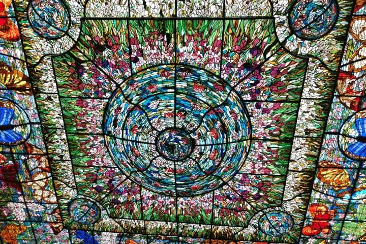 El vitral de Xcaret es una belleza Foto: Daniel Rea