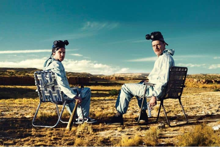 Walter White y Jesse Pickman. Foto Archivo