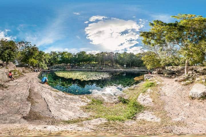 Xlacah en Dzibilchaltun. Foto: Cenote
