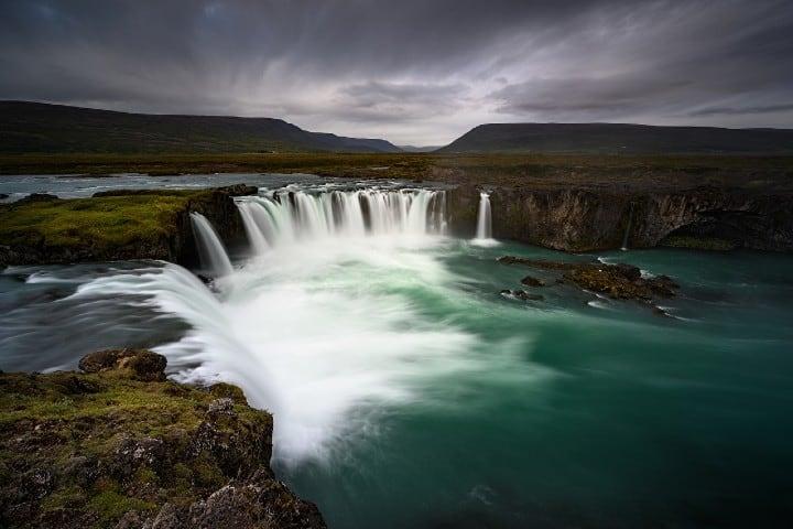 Cascada Godafoss en Islandia Foto: 1zoom