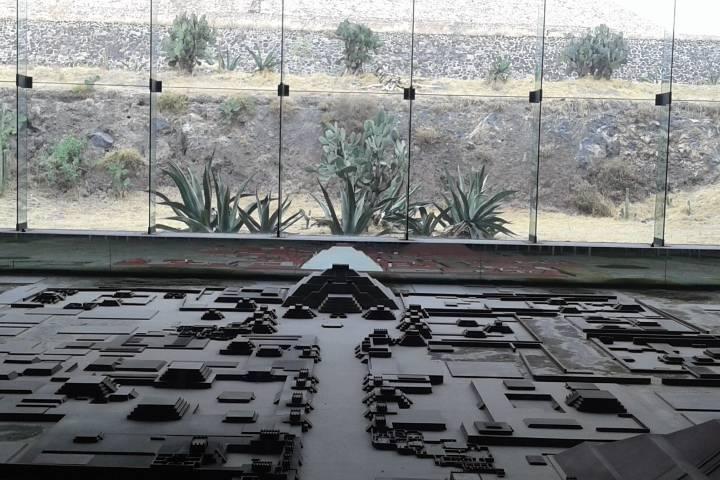 Museo de la cultura Teotihuacana Foto: Pinterest