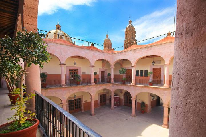 Palacio del Gobierno de Zacatecas. Foto: Travel By Mexico.