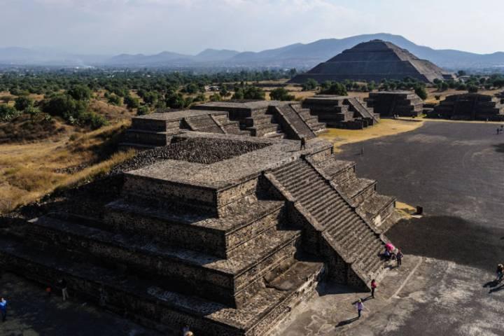 Pirámide del Sol y la Luna Foto: Matador Network