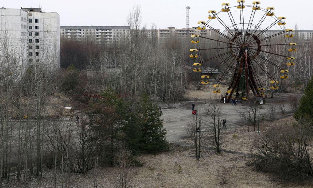 Pripyat Park. Foto: Pinteres