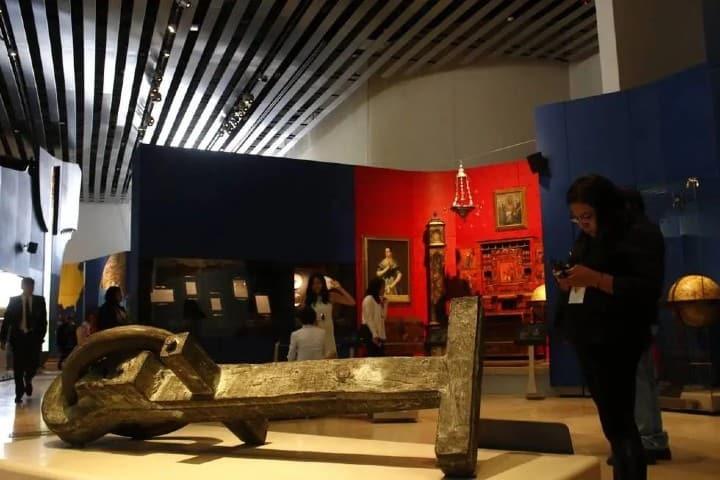Primeras salas en el Museo Internacional Barroco Foto: vanguardia