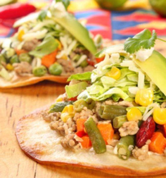 Recetas de tostadas mexicanas Foto: Craftlog
