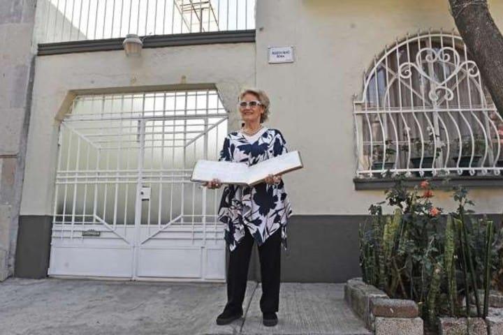 Vecina de Alfonso Cuarón, dueña de la casa dónde se grabó Roma Foto: Crónica de Xapala