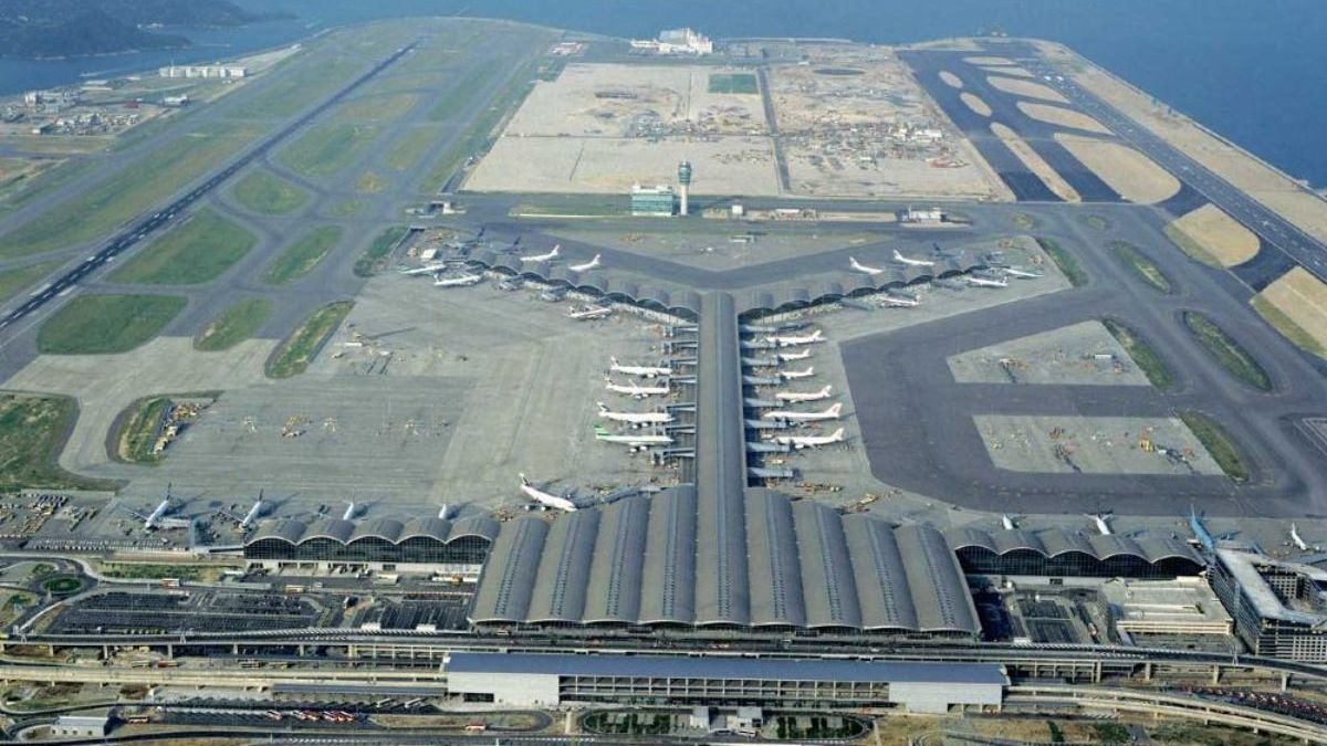 Aeropuerto de Hong Kong. Foto Mos Ingenieros.