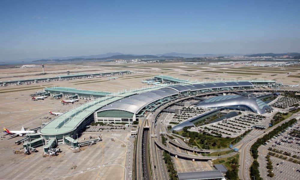 Aeropuerto de Incheon Foto megaconstrucciones.net