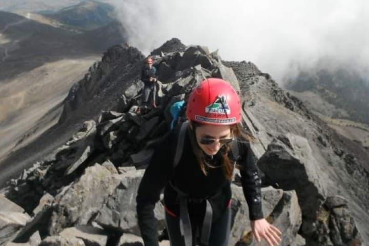 Alpinismo en el Nevado de Toluca Foto: Archivo