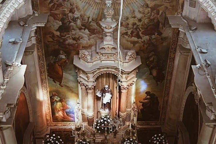Altar del Templo de San Antonio de Padua Foto: lejandraguh | Instagram