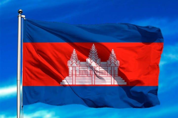 Angkor Wite en la bandera de Camboya. Foto Oedim Decor.