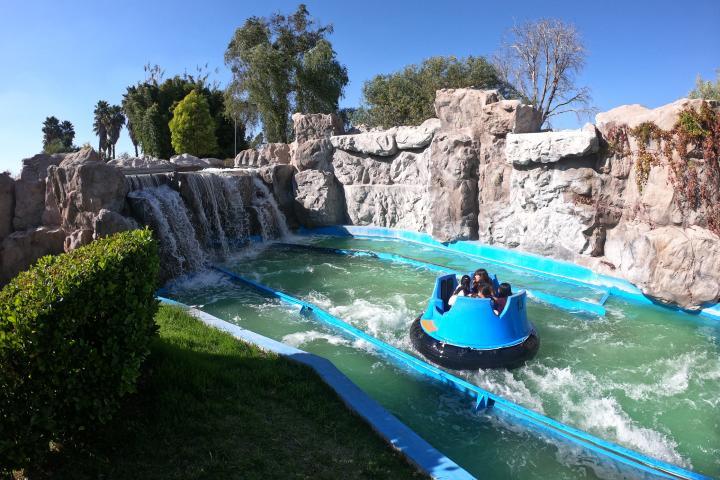 Atracción Río Rápido Foto Parque Bicentenario Querétaro