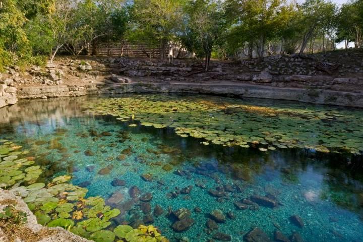 Aventura en los cenotes de Yucatán