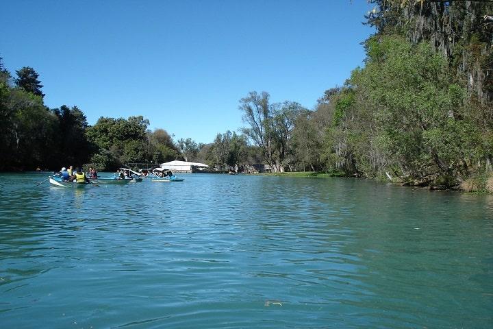 El magnífico lago del Bosque de las Truchas Foto: Daniel | Flickr