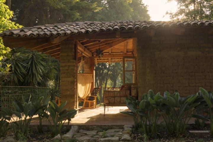 Rancho San Cayetano en Zitácuaro, Michoacán. Foto: Rancho San Cayetano