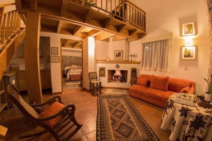 Cabaña del Rancho San Cayetano. Foto: Booking