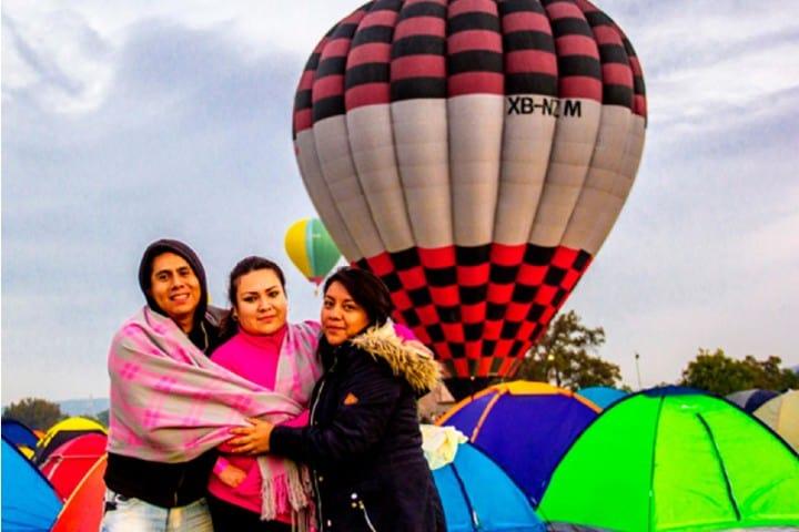 Campamento en el parque Foto: Skyballoons
