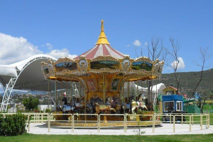 Carrusel del parque Foto: México Alternativo