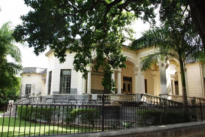 Casa Molina Duarte en el Paseo de Montejo Foto: Claude Baudoin