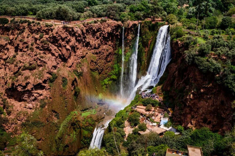 Cascada Ouzoud. Foto: Marruecos Mapa Tours.