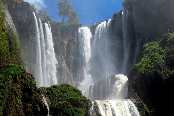 Cascada Ouzoud. Foto: Turismo Marruecos.
