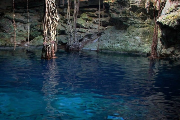 Cenote Chak-Zinik-Ché Foto: Los cenotes de Cuzamá