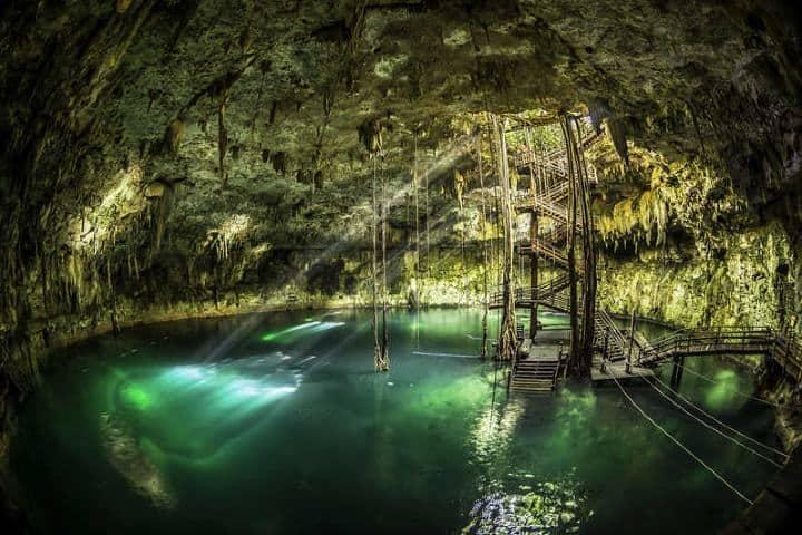Visita el cenote más grande de Yucatán, no te resistas a visitarlo. Foto: Revista Yucatán