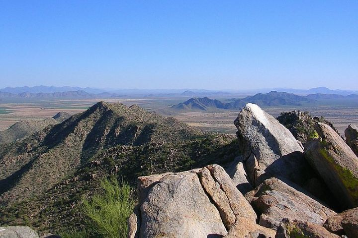 Cima del Cerro de La Proveedora, Sonora Foto: rafrodflickmess