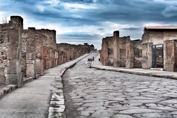 Ciudad de Pompeya en Nápoles Foto: Manuel Sánchez Cantón