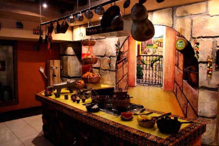 Cocina tradicional regional. Foto: Museo del dulce